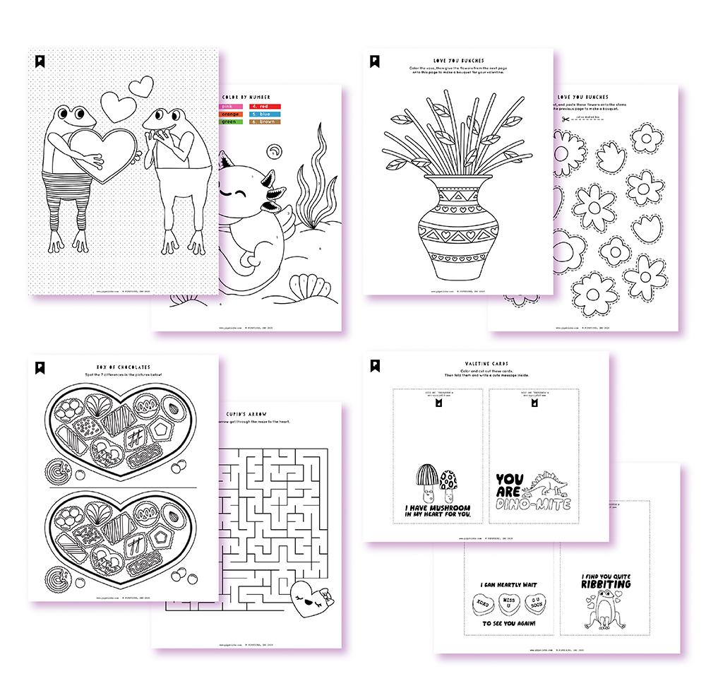 January 2021 Kids Printables by Pipsticks