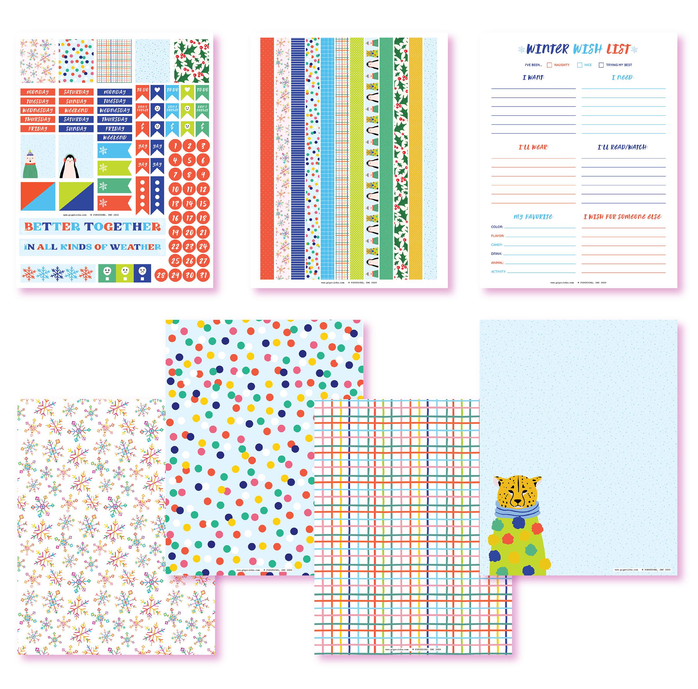 November 2020 Planner Printables