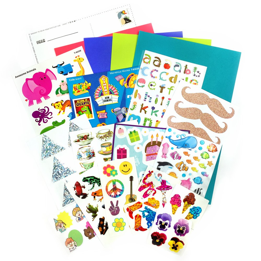APRIL 2017 KIDS CLUB STICKERS!