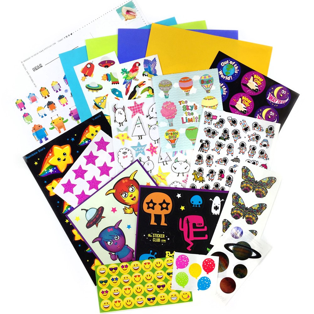 JUNE 2017 KIDS CLUB STICKERS!