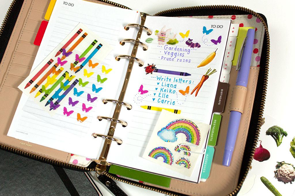 Merissa Revestir for Pipsticks.com sticker subscription