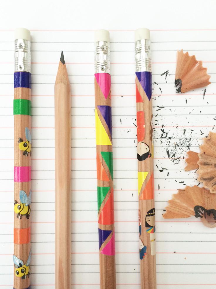 Pretty pencils