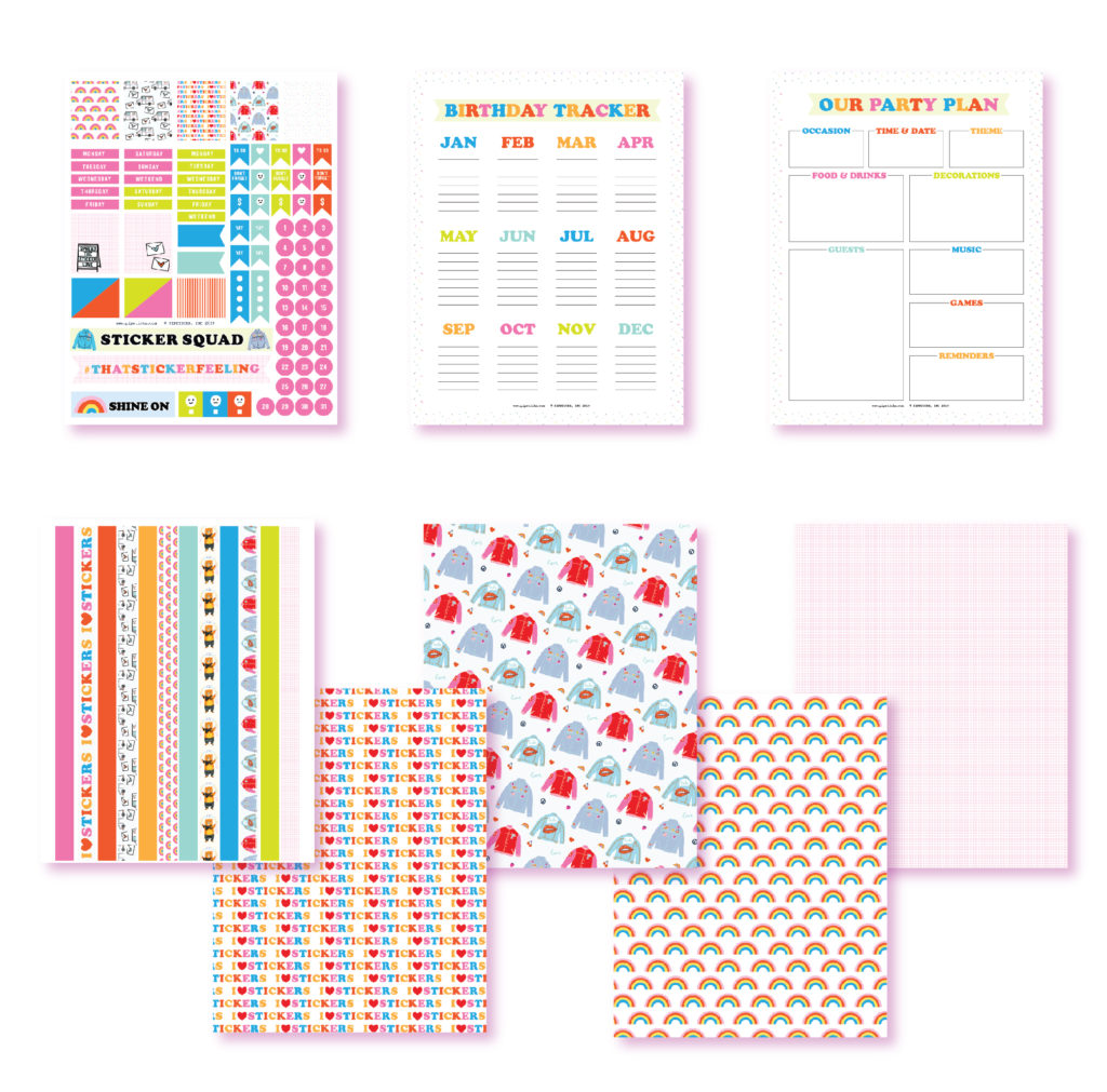2019 August Planner Printables