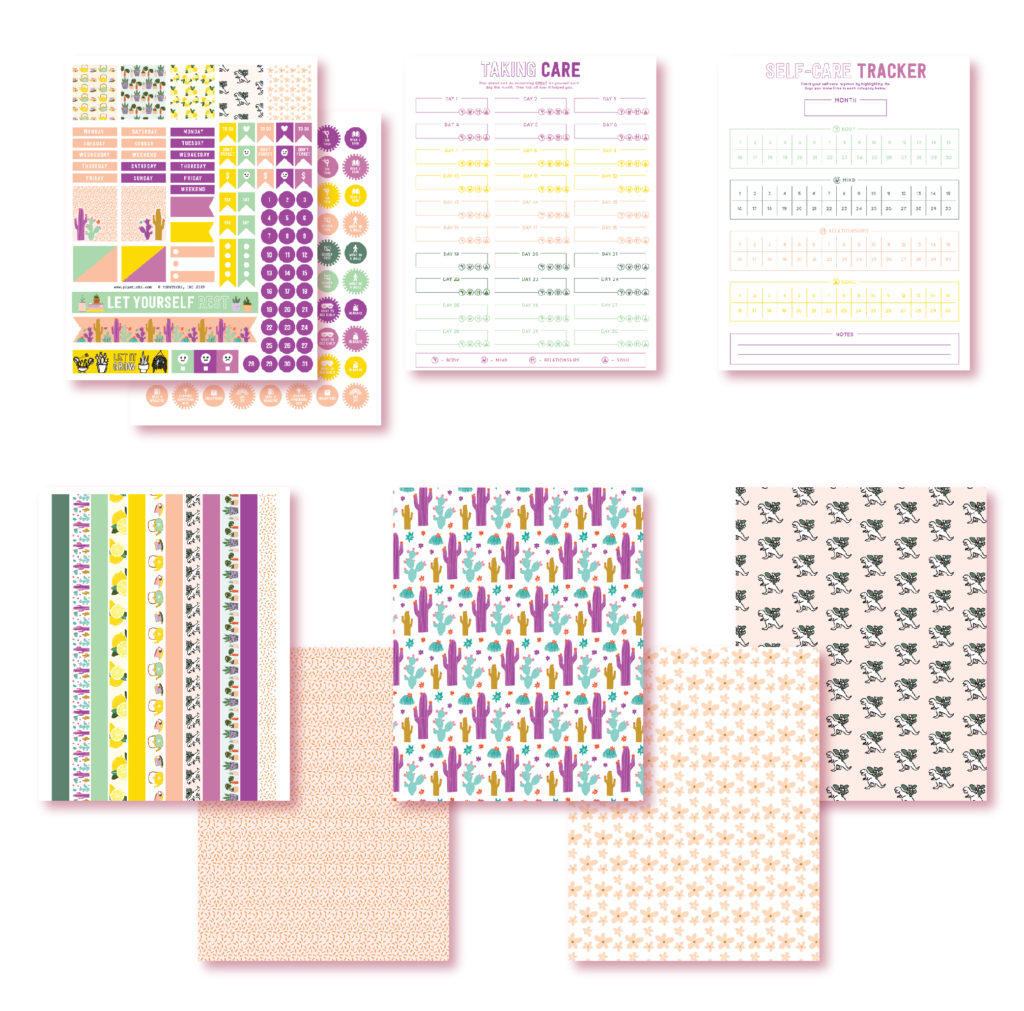 2019 July Planner Printables
