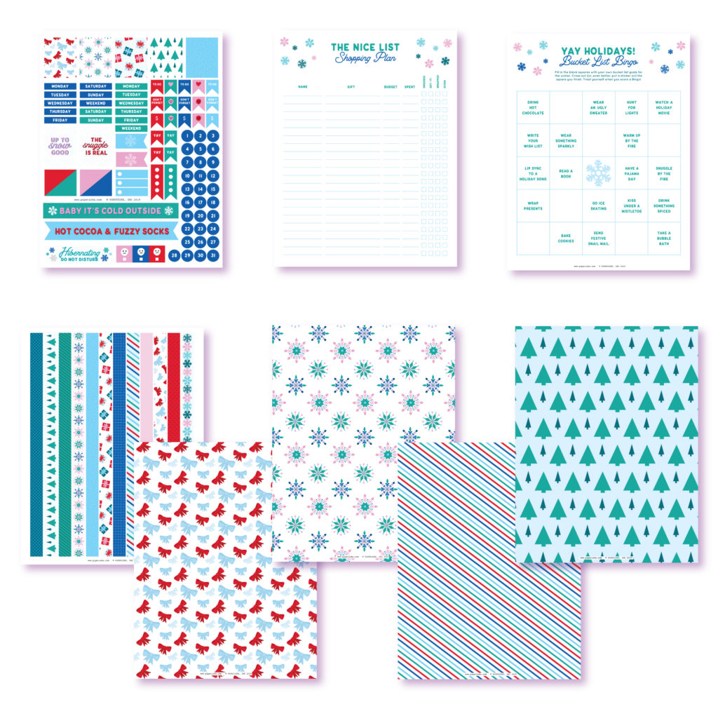 2020 January Planner Club Printables