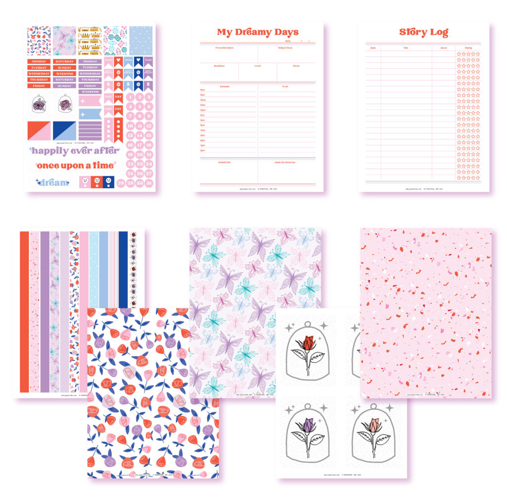 2020 April Planner Club Printables