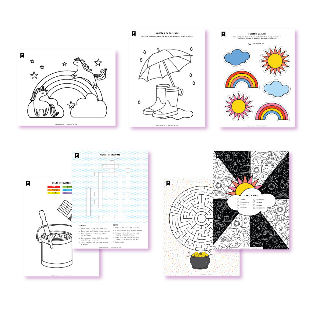 2020 February Kids Club Printables