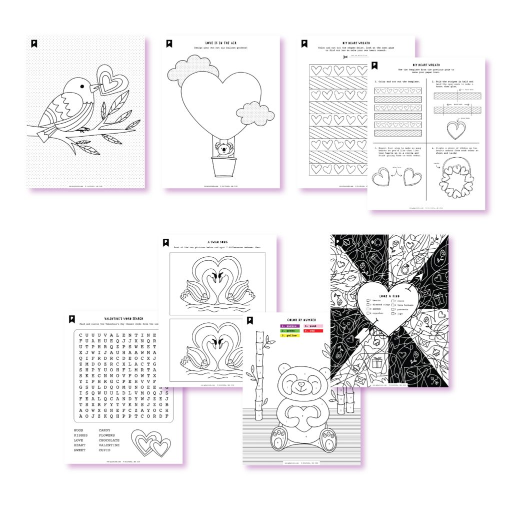 2020 January Kids Club Printables