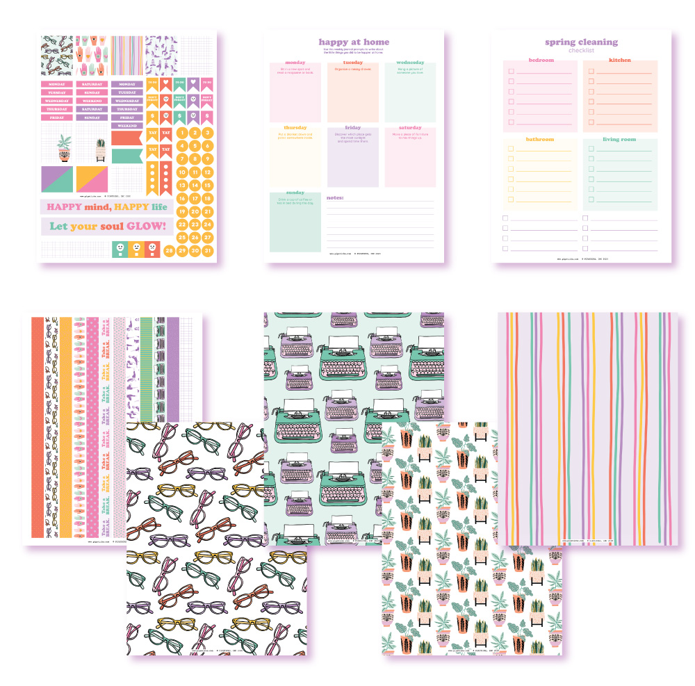 2020 March Planner Club Printables