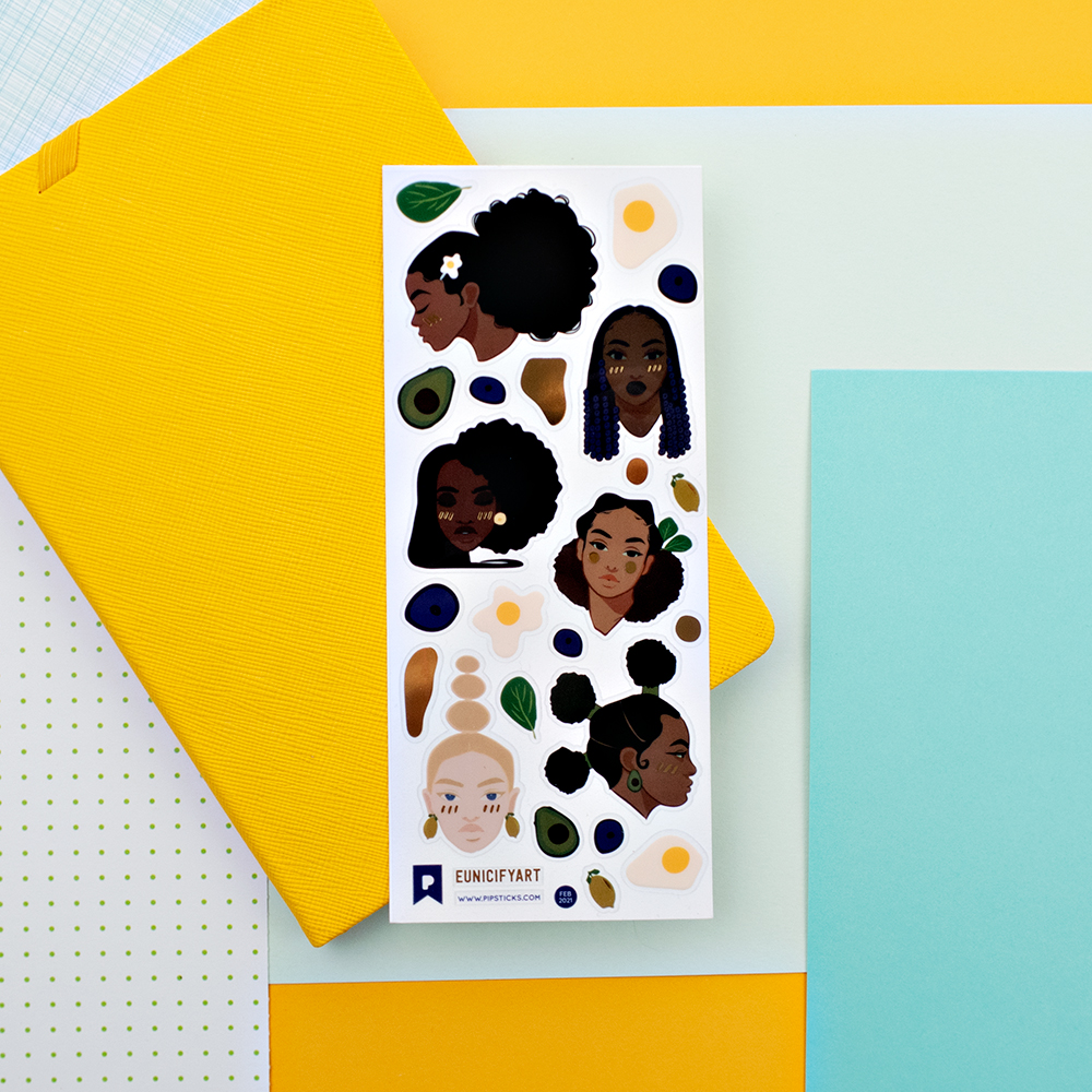 Pipsticks + Eunice Art Collab