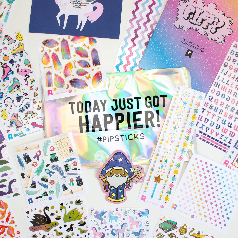 Sneak Peek August Pro Club Sticker pack