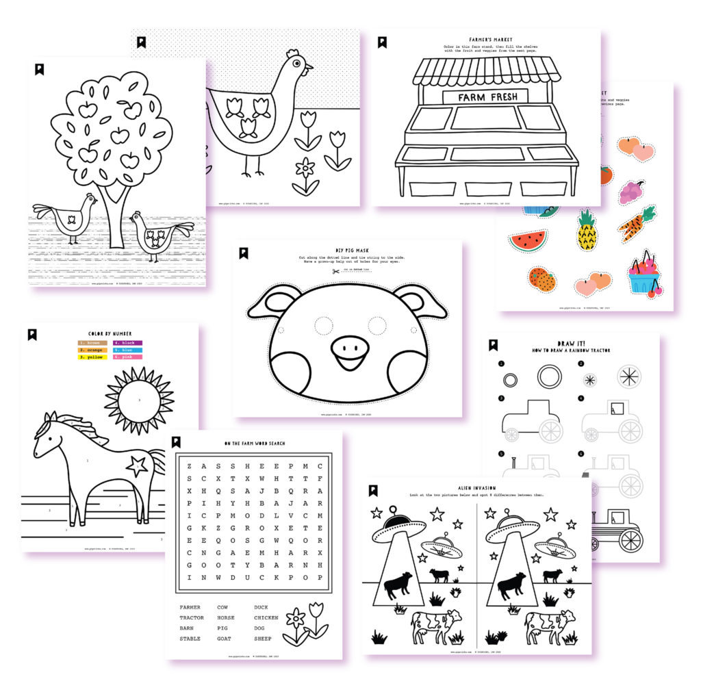 2020 June Kids Club Printables