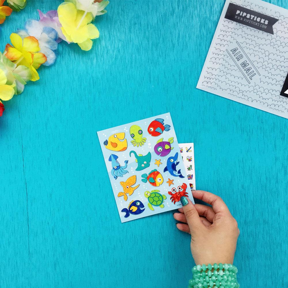 July Kids Club sticker pack