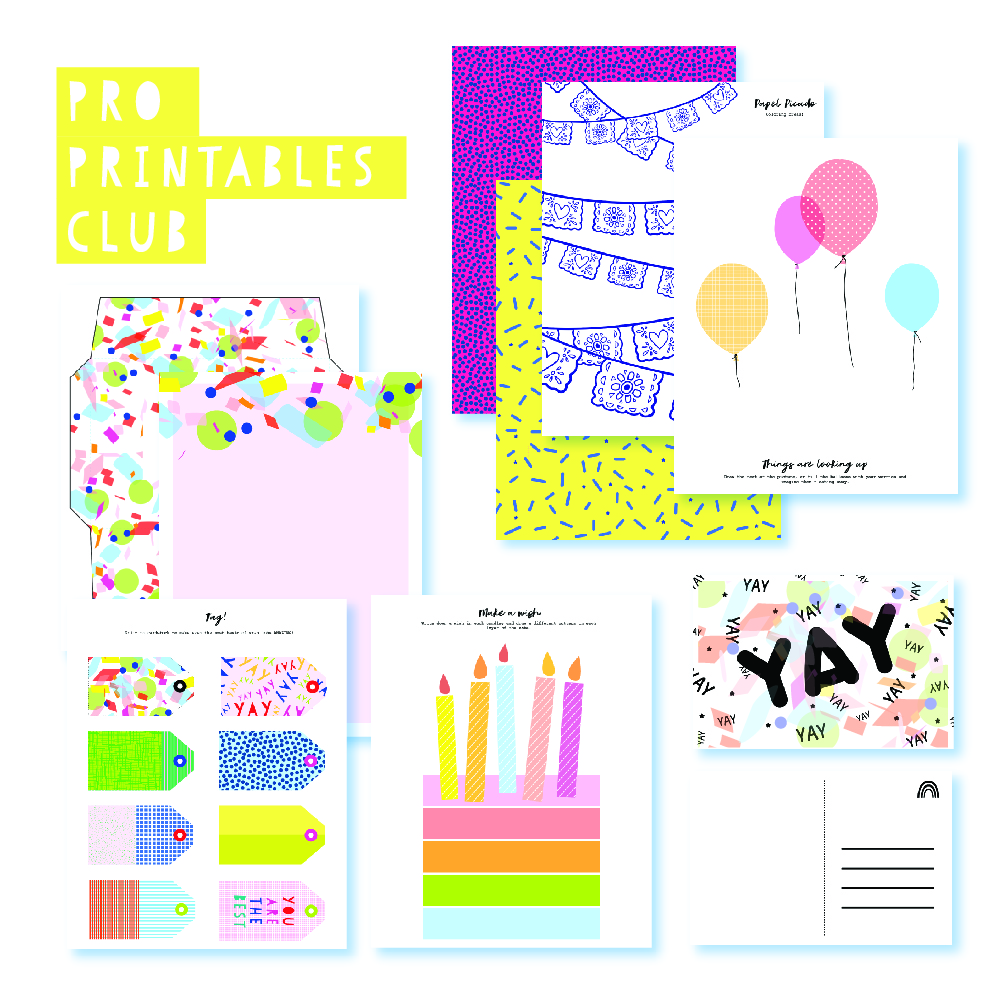 2018 August Pro Club Printables