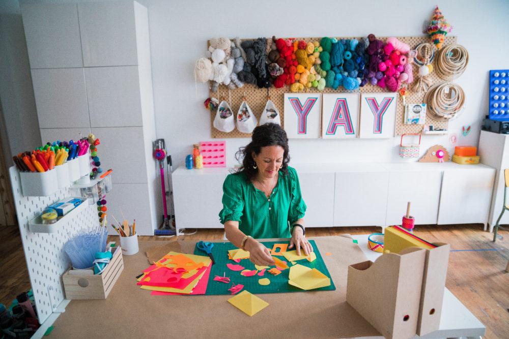Amanda at work