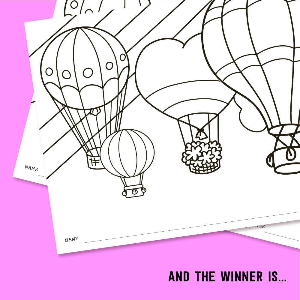 2017 FEBRUARY KIDS CLUB COLORING CONTEST WINNER