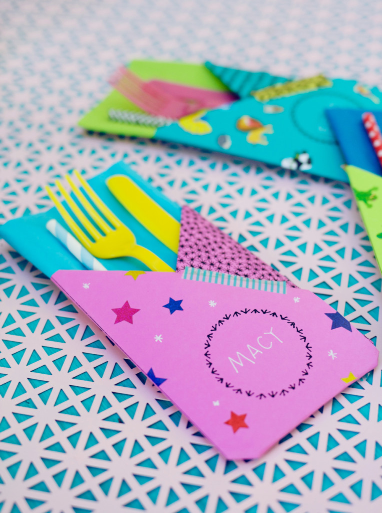 Printable picnic pouches