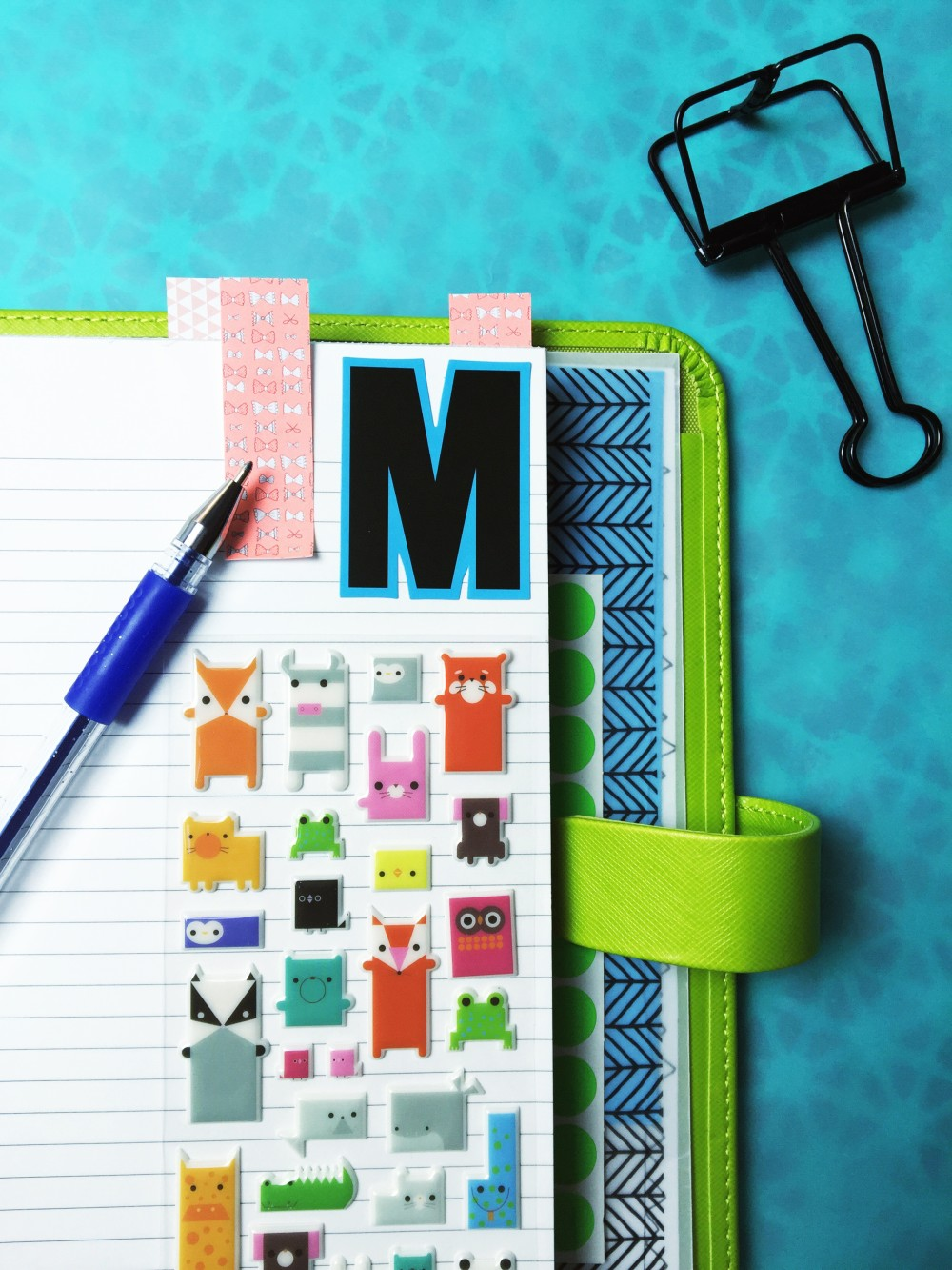 Mo's planner
