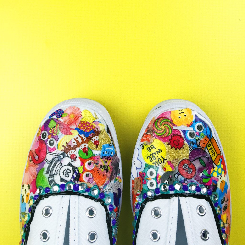 KEDS (are way better with stickers)