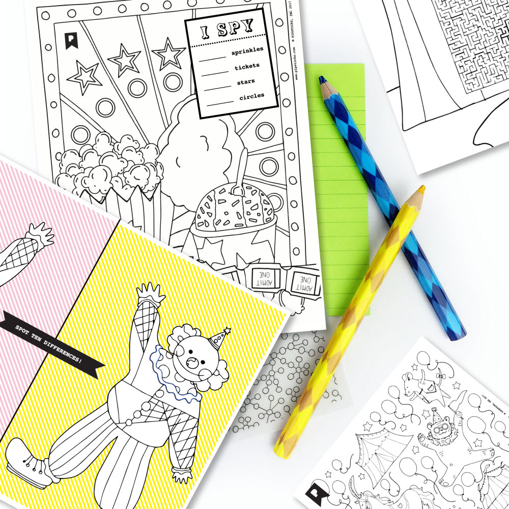 June 2017 Kids Printables Subscription
