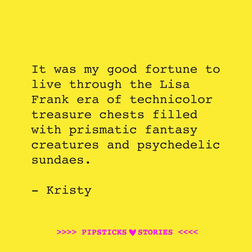 Love Story: Kristy