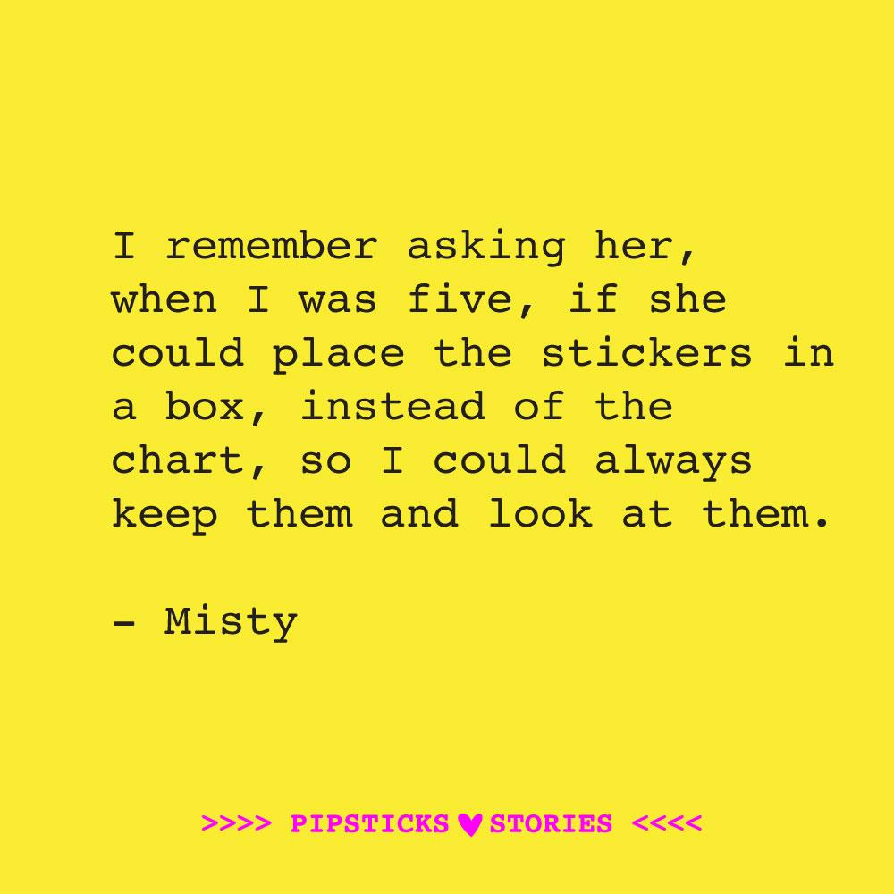 Love story: Misty