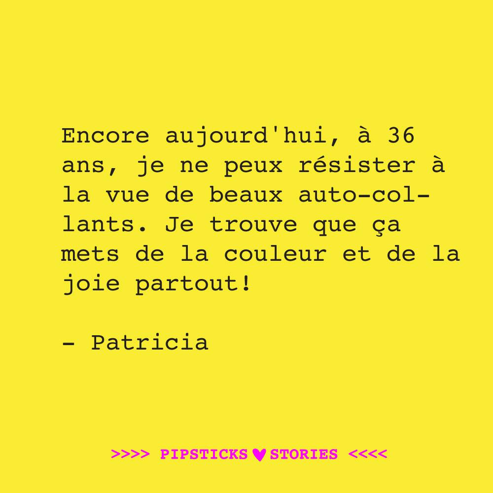 Love story: Patricia