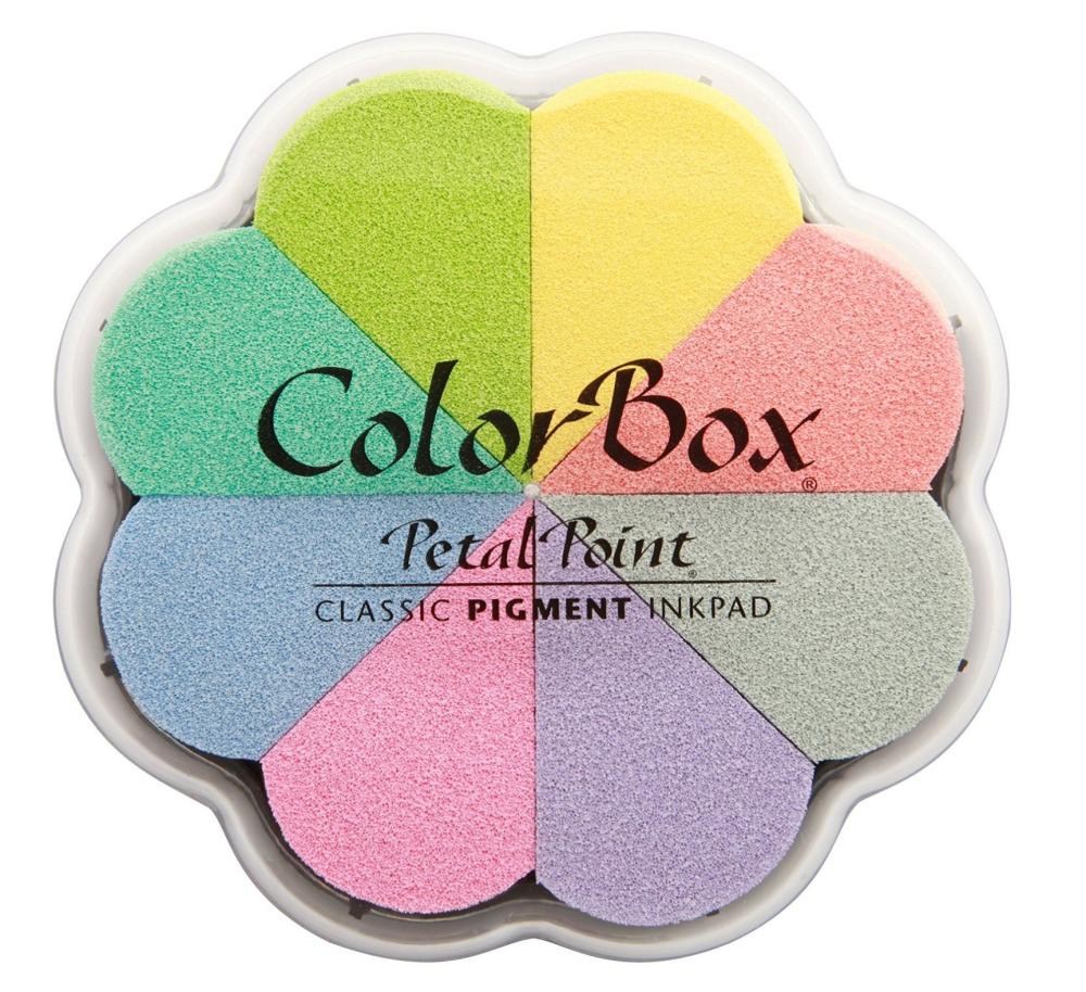 pastel stamp pad