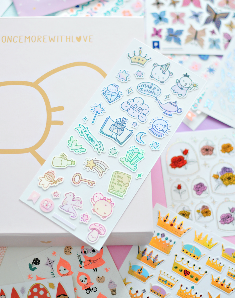 Once More With Love Stickers