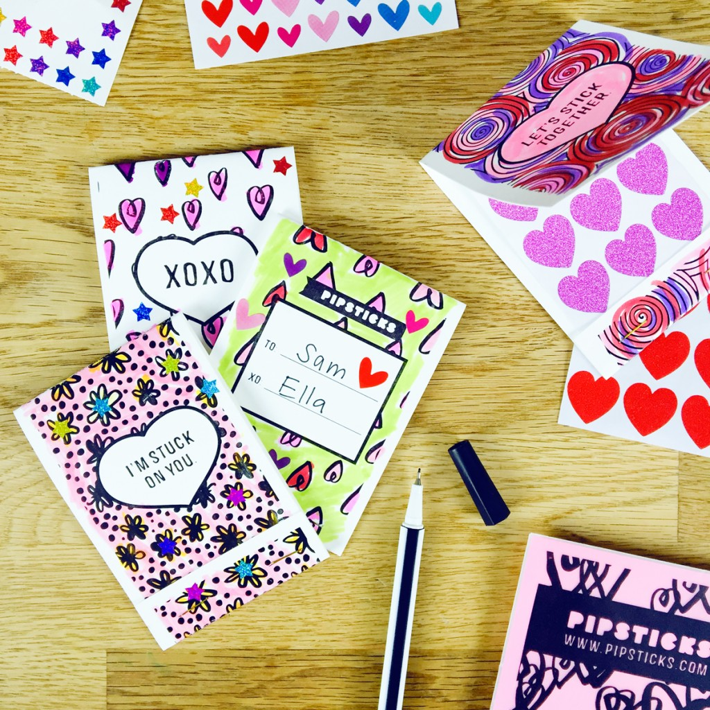 Free Printable: valentine sticker books