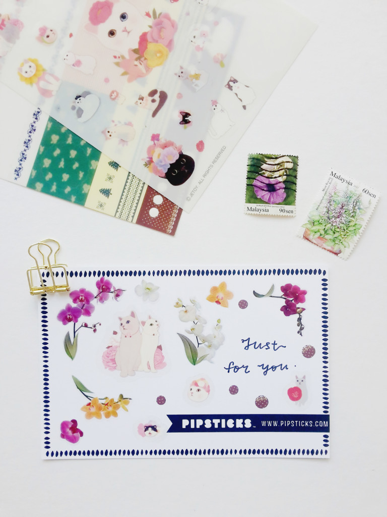 Pipsticks postcards