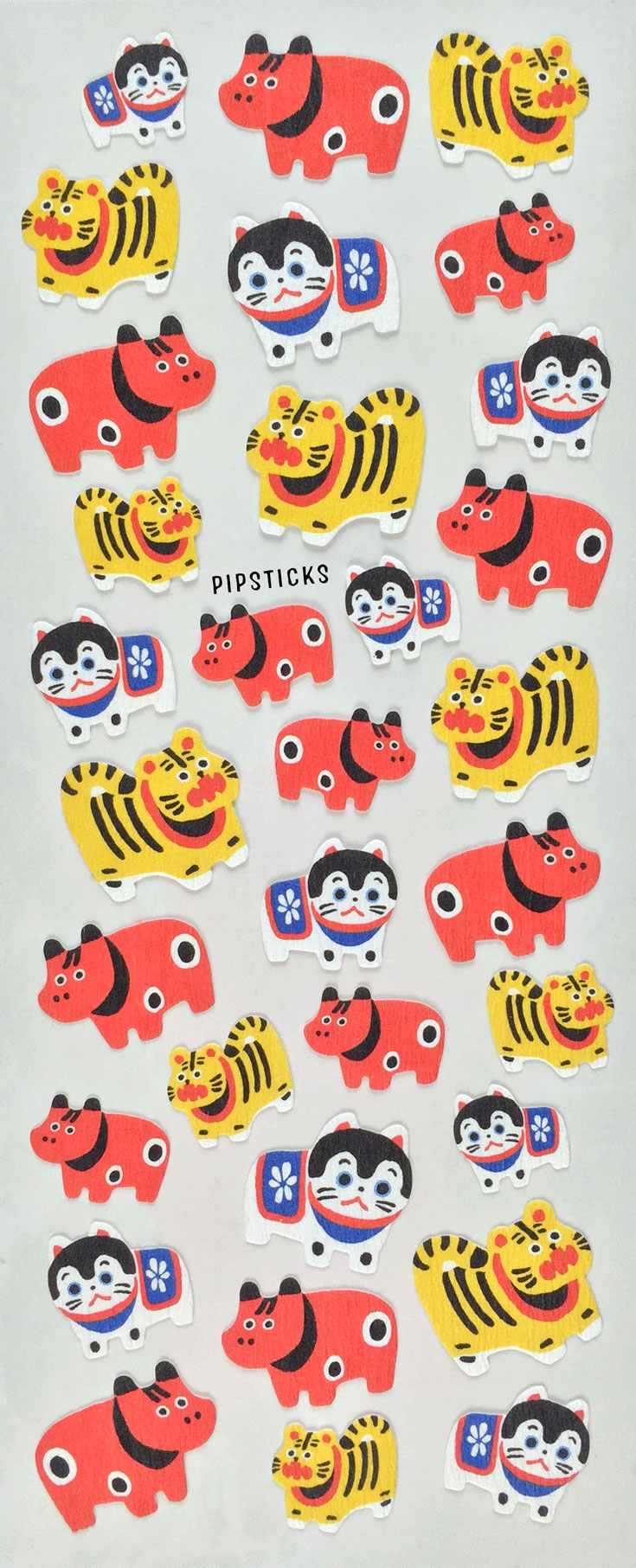 japanese sticker animals