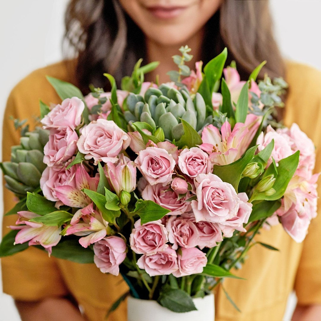 May 2021 VIP Pro Giveaway Prize: a 6-month subscription to Bouqs fresh flowers