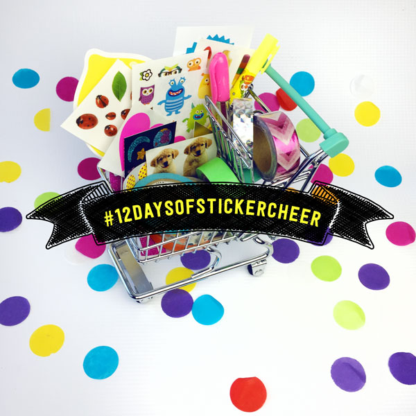 12 Days of Sticker Cheer: Giveaway 11