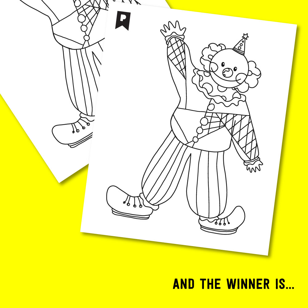 2017 JULY KIDS COLORING CONTEST WINNER