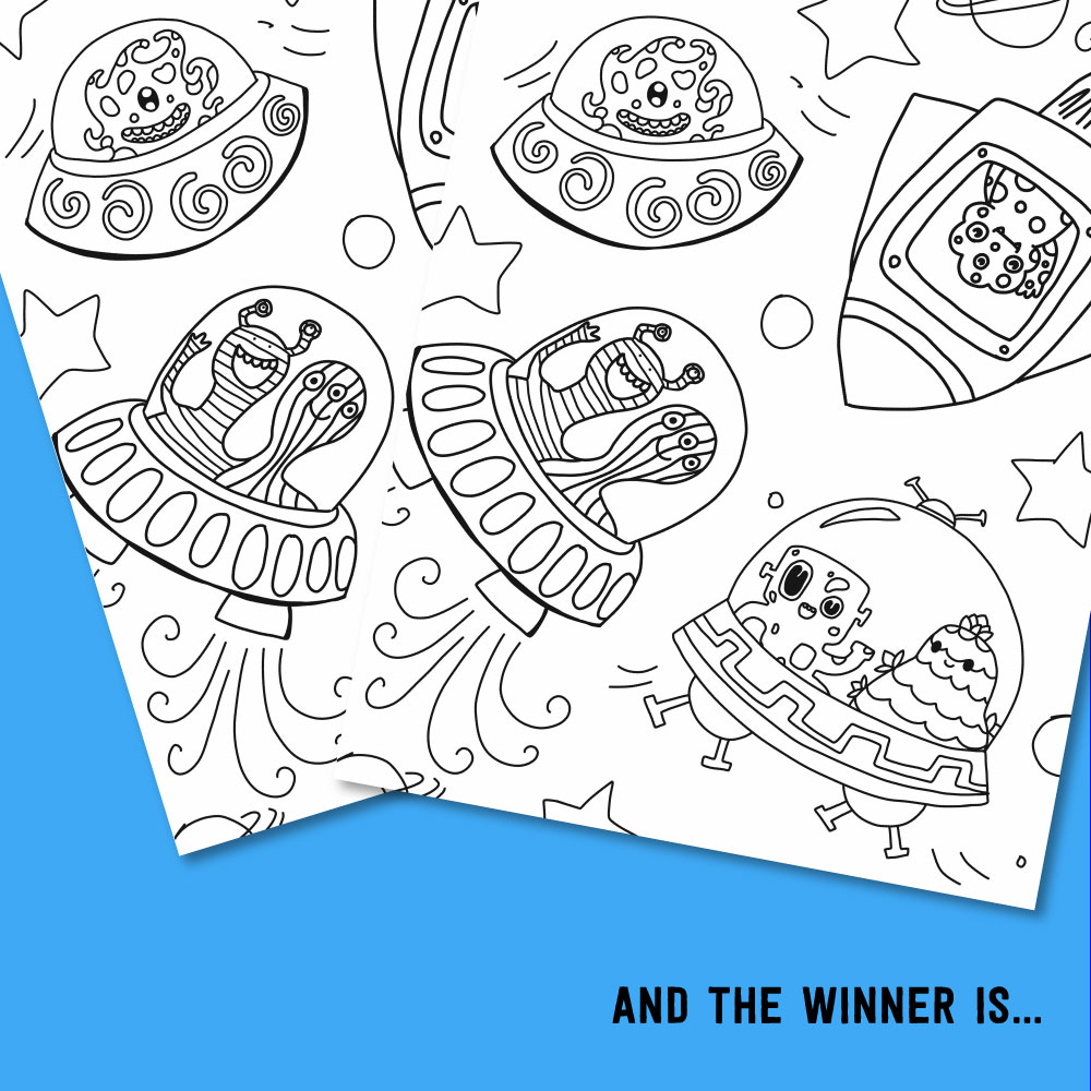 2017 JUNE KIDS COLORING CONTEST WINNER