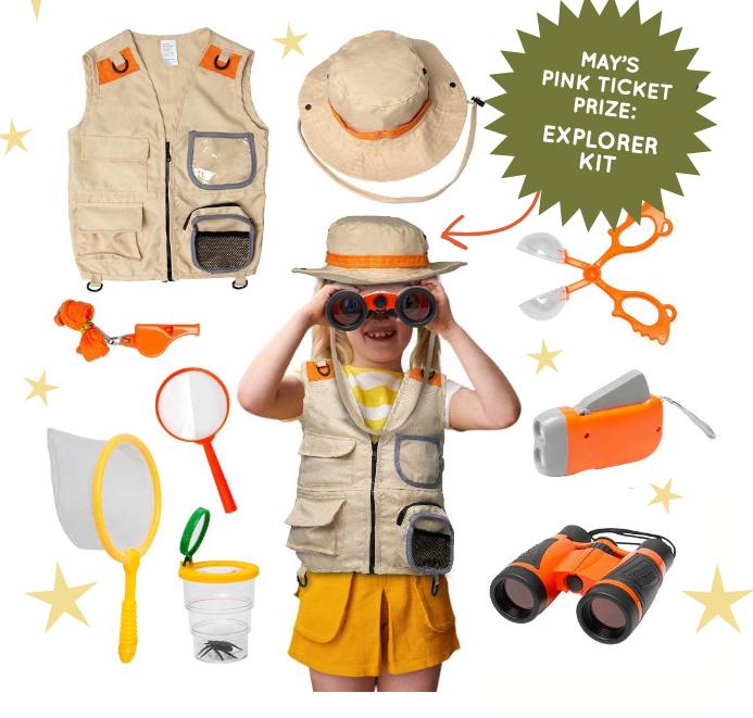 May 2021 Kids VIP Prize: Outdoor Explorer Kit
