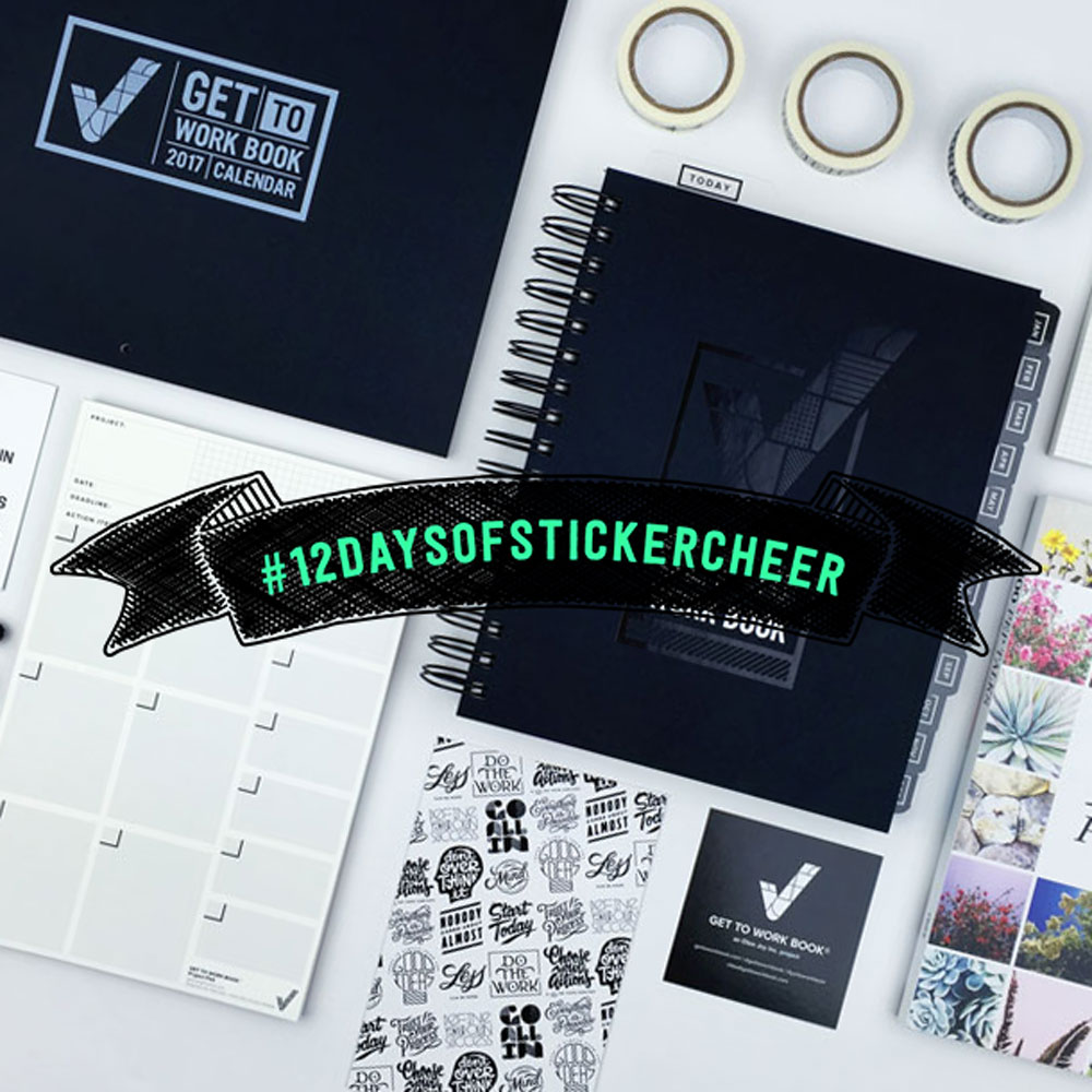 12 Days of Sticker Cheer: Giveaway 8