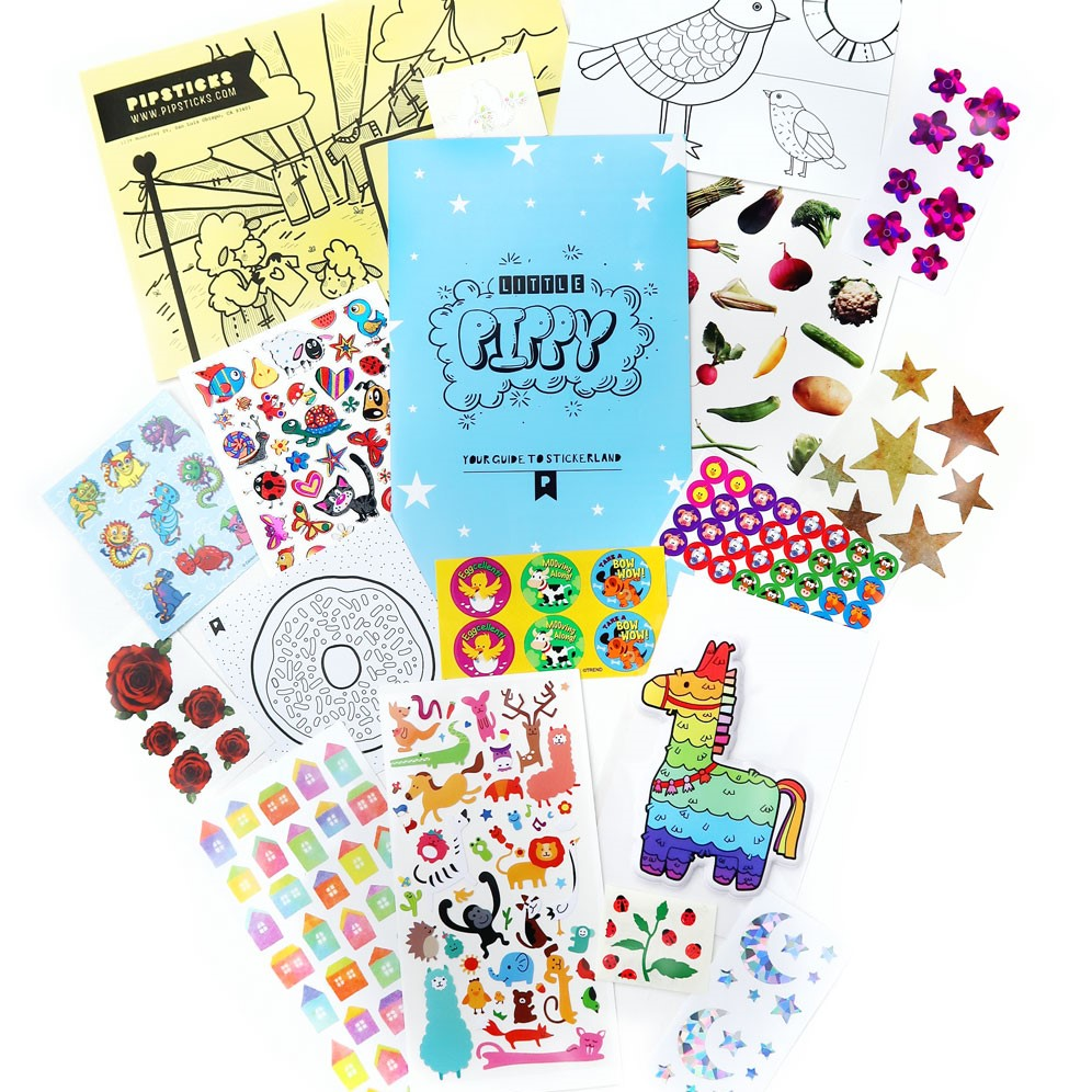 JULY 2018 KIDS CLUB STICKERS!