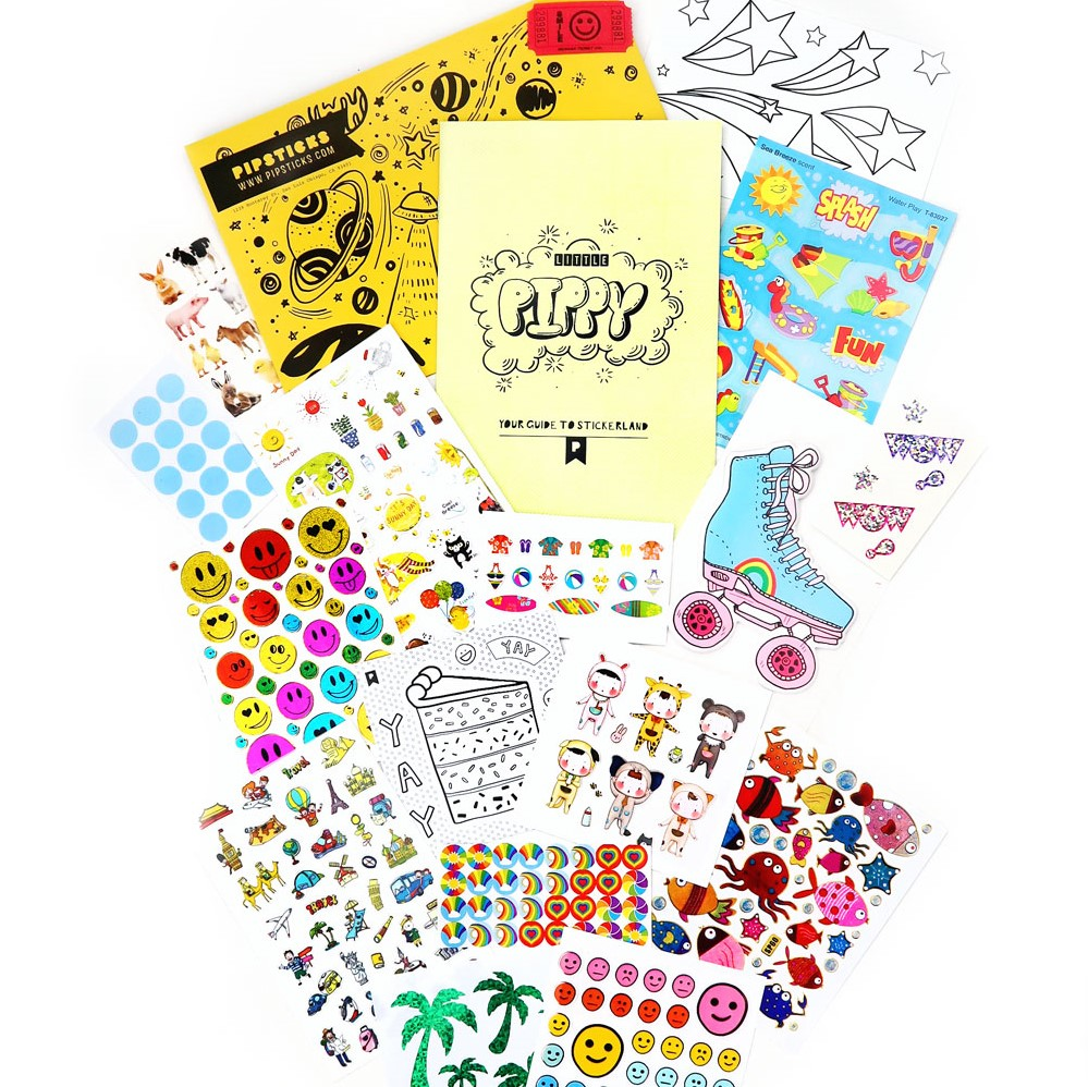 JUNE 2018 KIDS CLUB STICKERS!