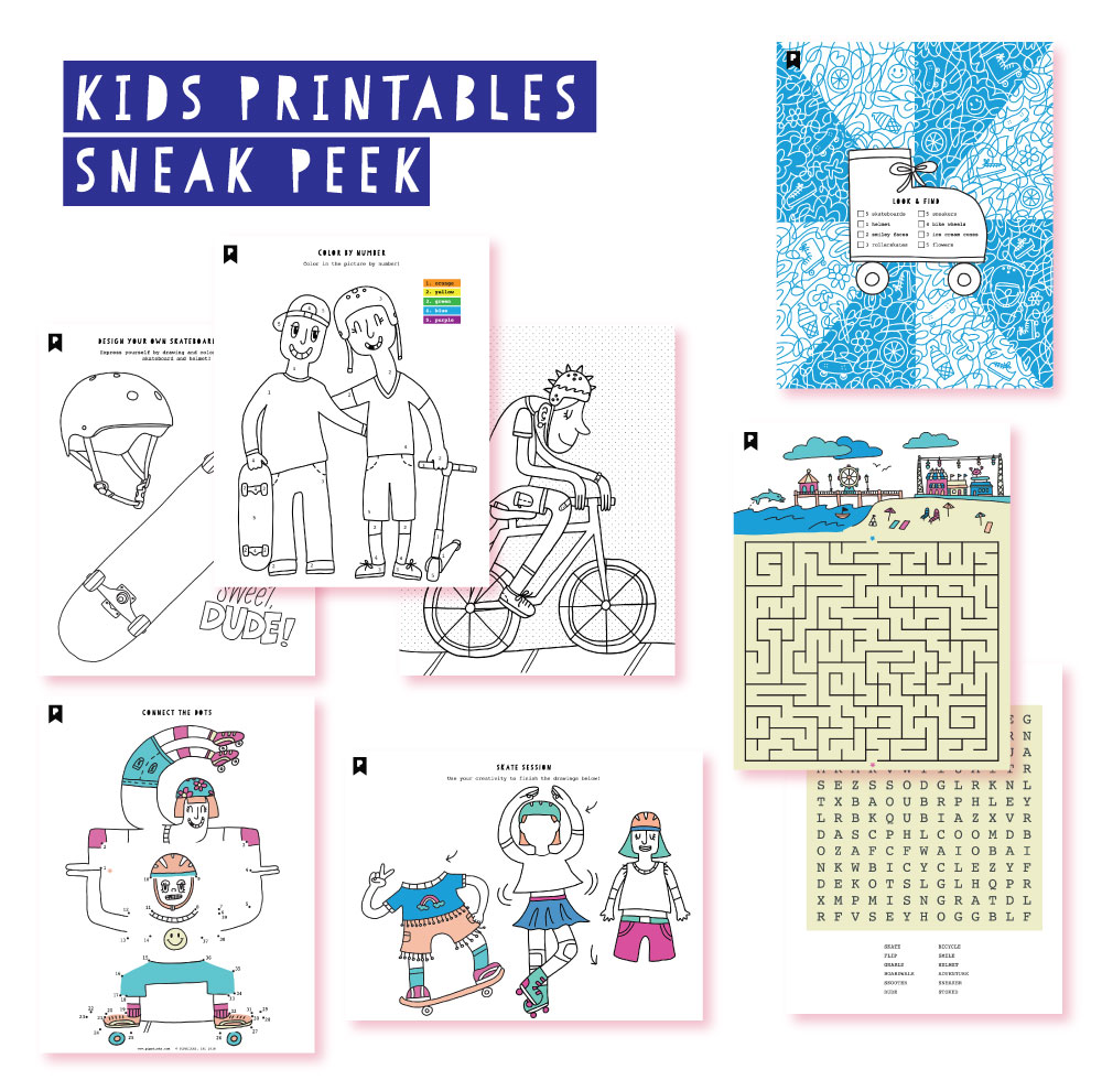2019 April Kids Club Printables