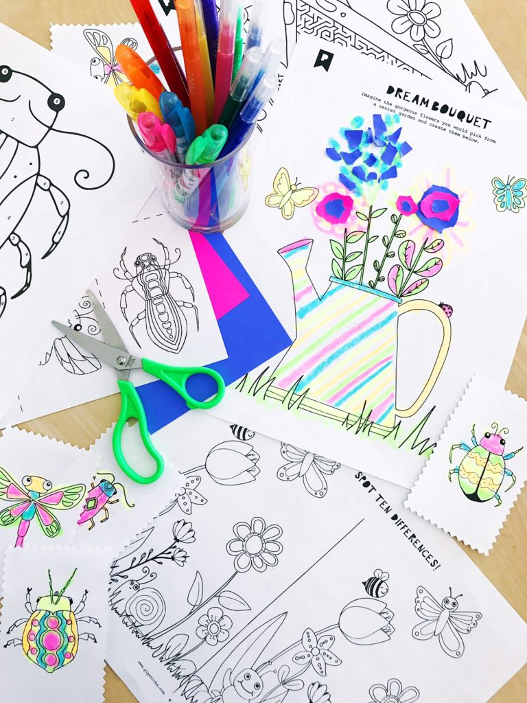July 2017 Kids Printables Subscription
