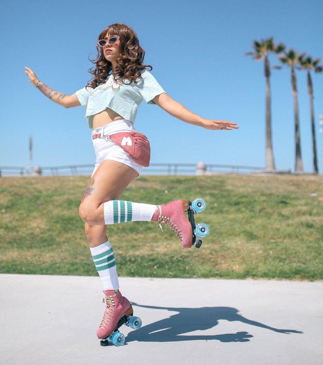 Mox Skates - Pink & Baby Blue