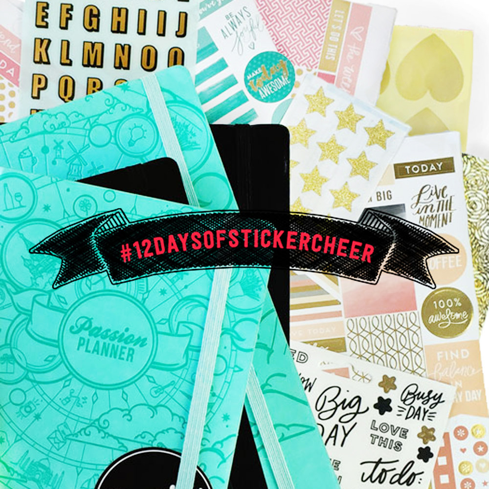 12 Days of Sticker Cheer: Giveaway 3