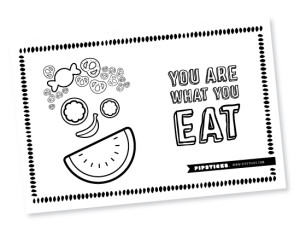 placemat_shine_youarewhatyoueat