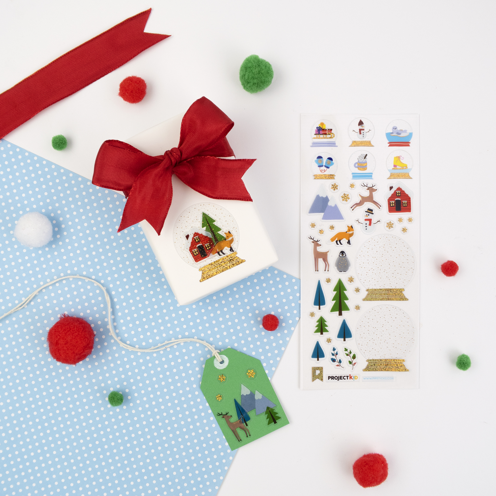Project Kid gift tags