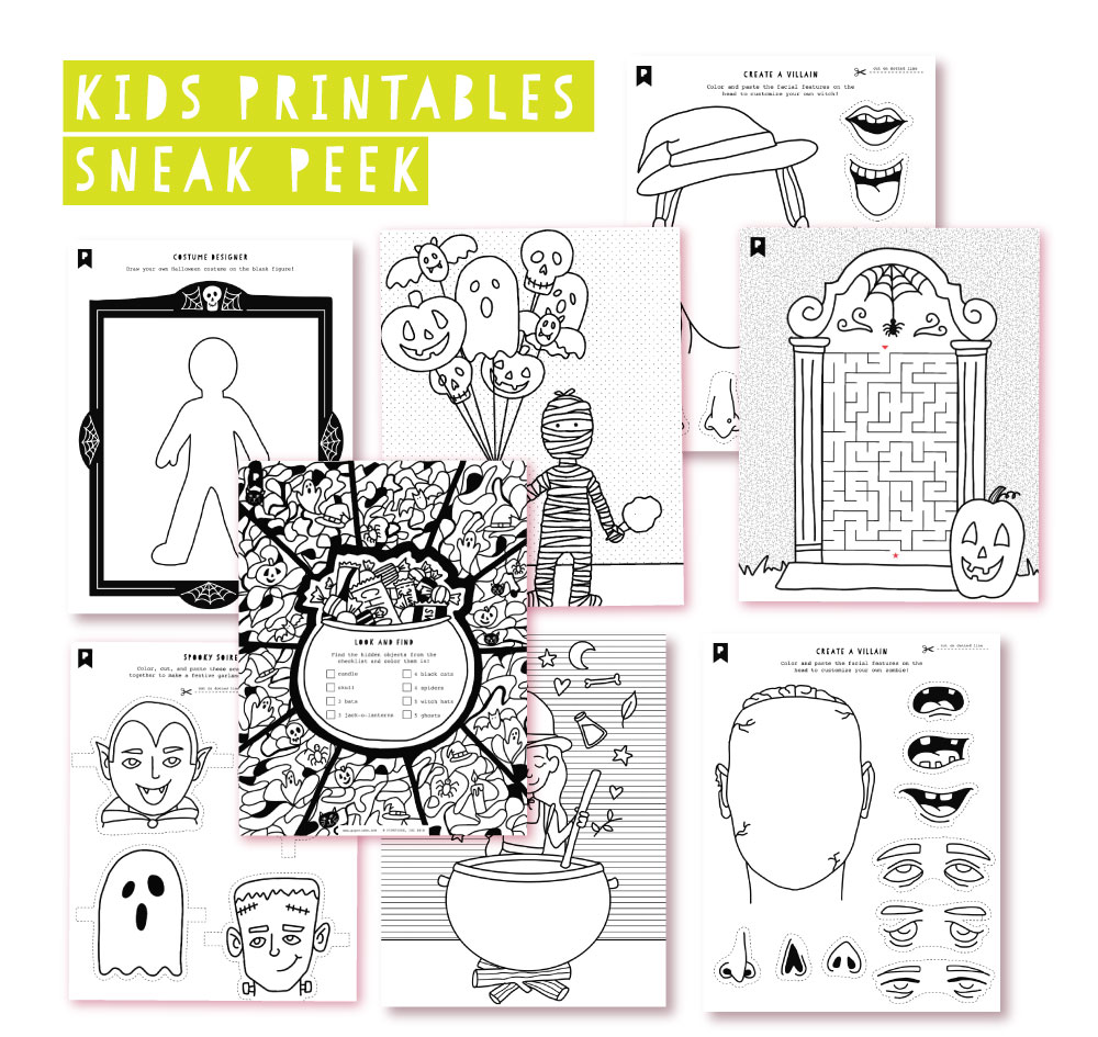 2018 September Kids Club Printables