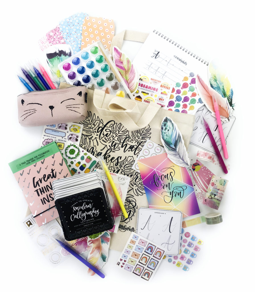 Pipsticks + Letters By Shells Sticker Collab & Giveaway!