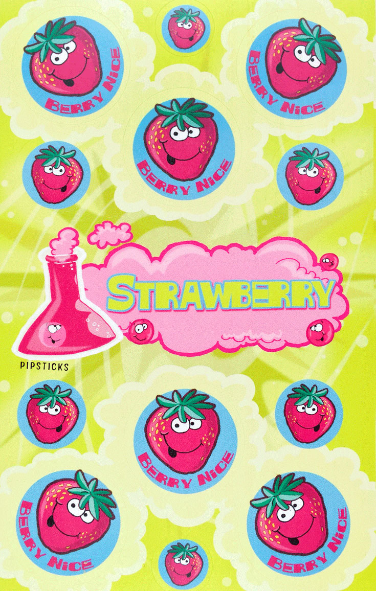 strawberry-scratch n sniff