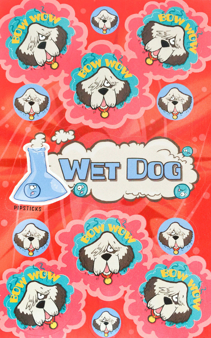 wet-dog-scratch n sniff